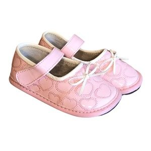 Jack & Lily Pink Baby Walker Mary Janes